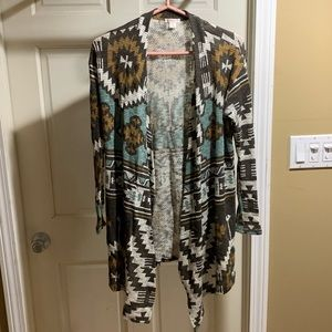 Cool Aztec patterned cardigan from Target